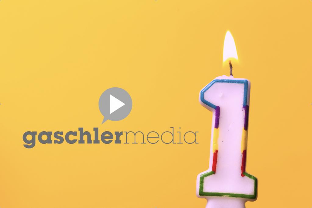 1 Jahr gaschler media